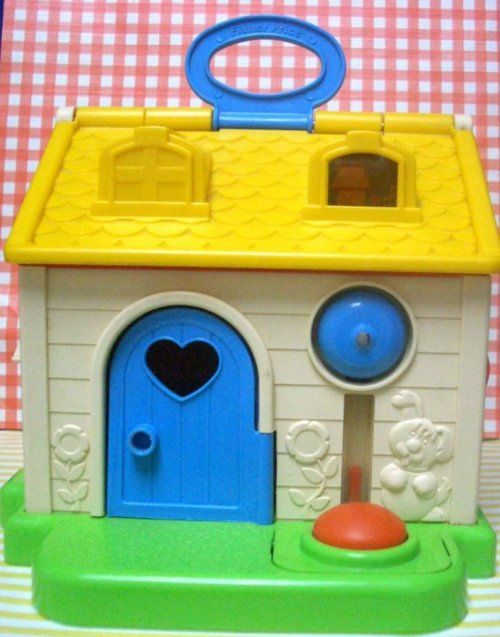 Toys of the '80s. We had this and I thought that the bell was the best!