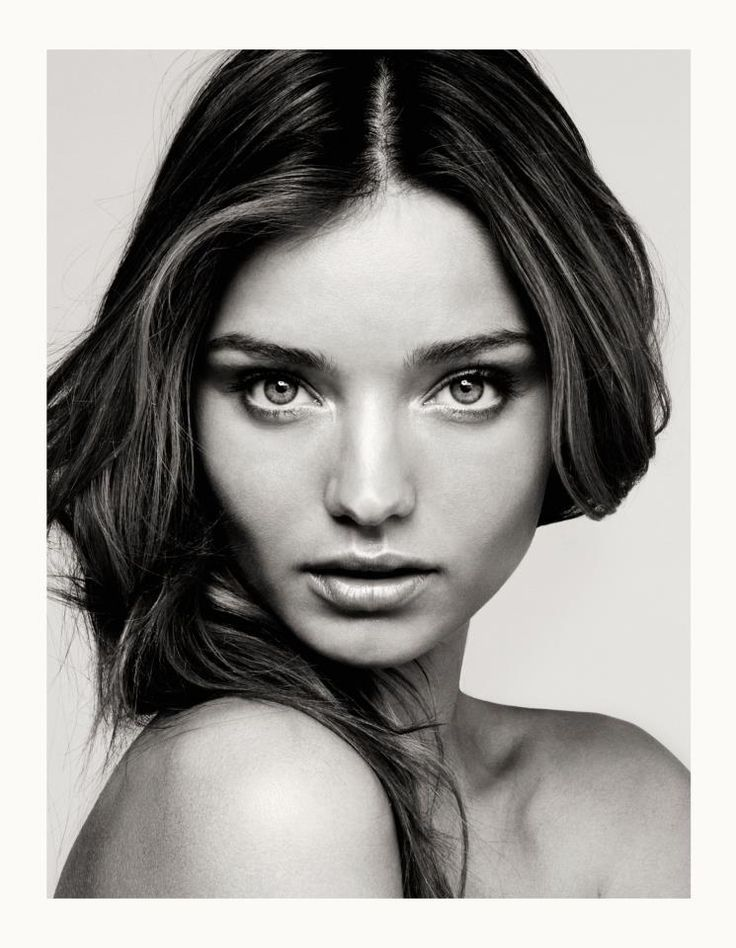 black and white style | Miranda Kerr Black and White - piccmag.com | Famous People Photos