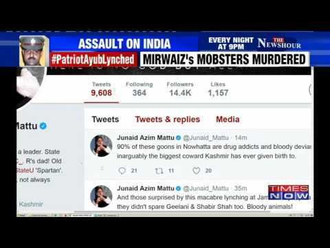 DSP Mohammed Ayub Pandiths Death: Junaid Azam Mattu Calls Mirwaiz Biggest Coward In Kashmir https://t.co/GbQ2gdpzWd #NewsInTweets