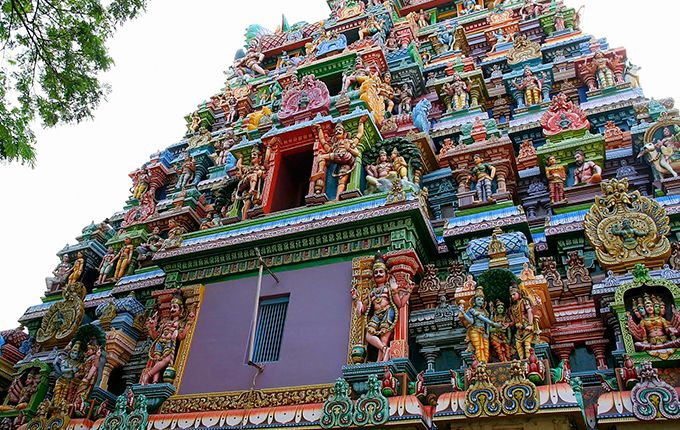Meenakshi Amman Temple in Madurai, India / http://www.rostyleandlife.com/ro/pl/home/63-lifestyle-pl/podroze-pl/2099-podroze-ind