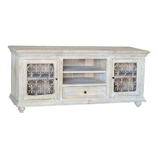 Beau ... Awesome Antique White Tv Cabinet