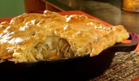 Simply Ming | Chicken and Sweet Potato Pot Pie