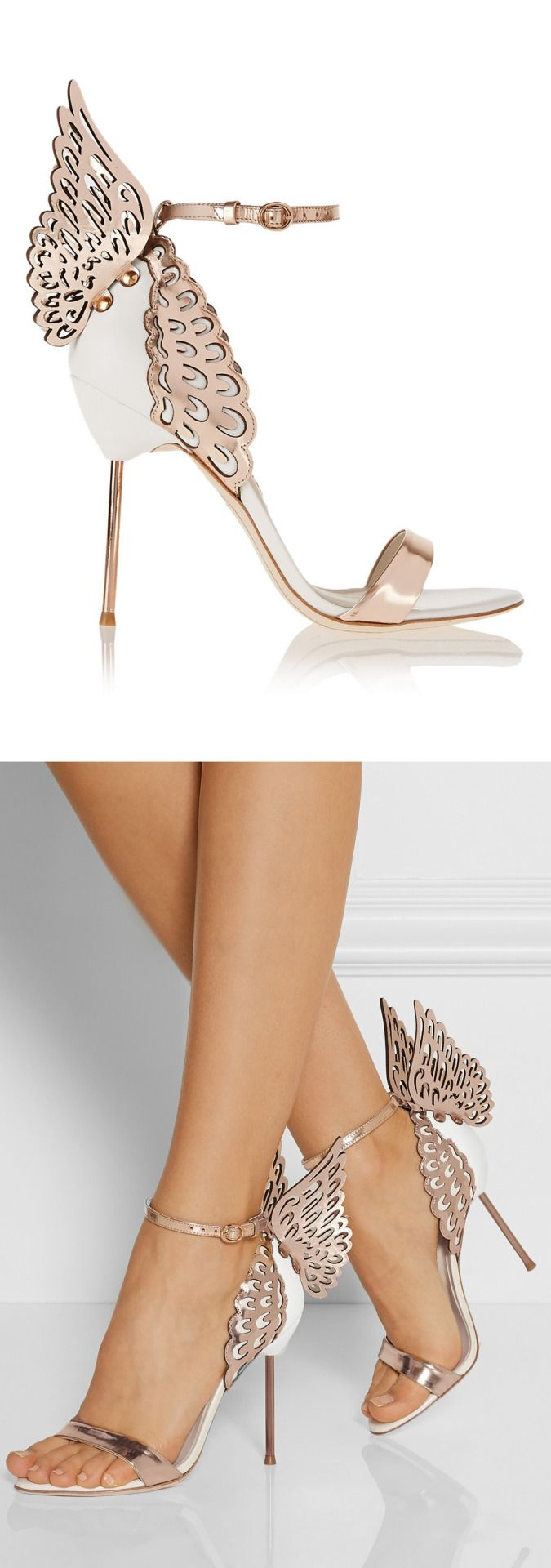 Winged Heels | Sophia Webster   I know the perfect person for these. Beautiful