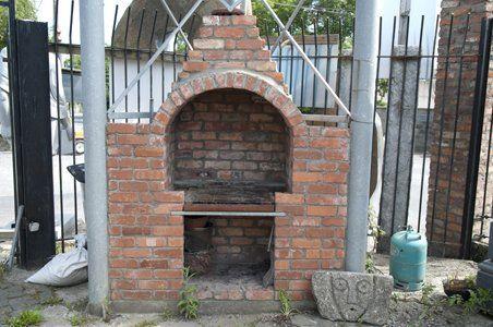 How To Build A Brick Bbq With Chimney Brick Bbq Brick