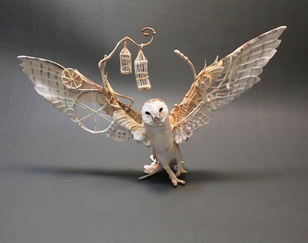 animaux fantasmagoriques par Ellen Jewett (image)  http://creaturesfromel.deviantart.com/