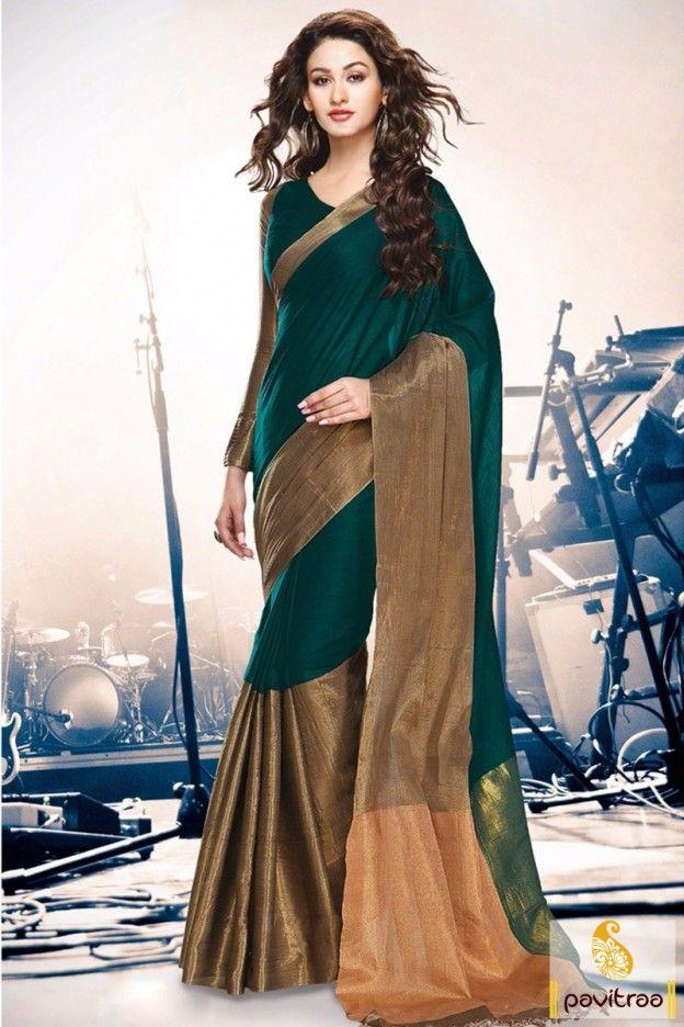 Beautiful Silk #Cotton Sarees for hot summer season office, wives, party,occasion @ http://www.pavitraa.in/catalogs/beautiful-silk-cotton-sarees/?utm_source=pk&utm_medium=pinterestpost&utm_campaign=5April