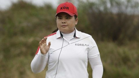 After two rounds, South Korea's Inbee Park leads by one stroke