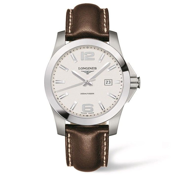 1000 ideas about longines conquest on pinterest longines chronograph and montre rolex for Longines leather strap
