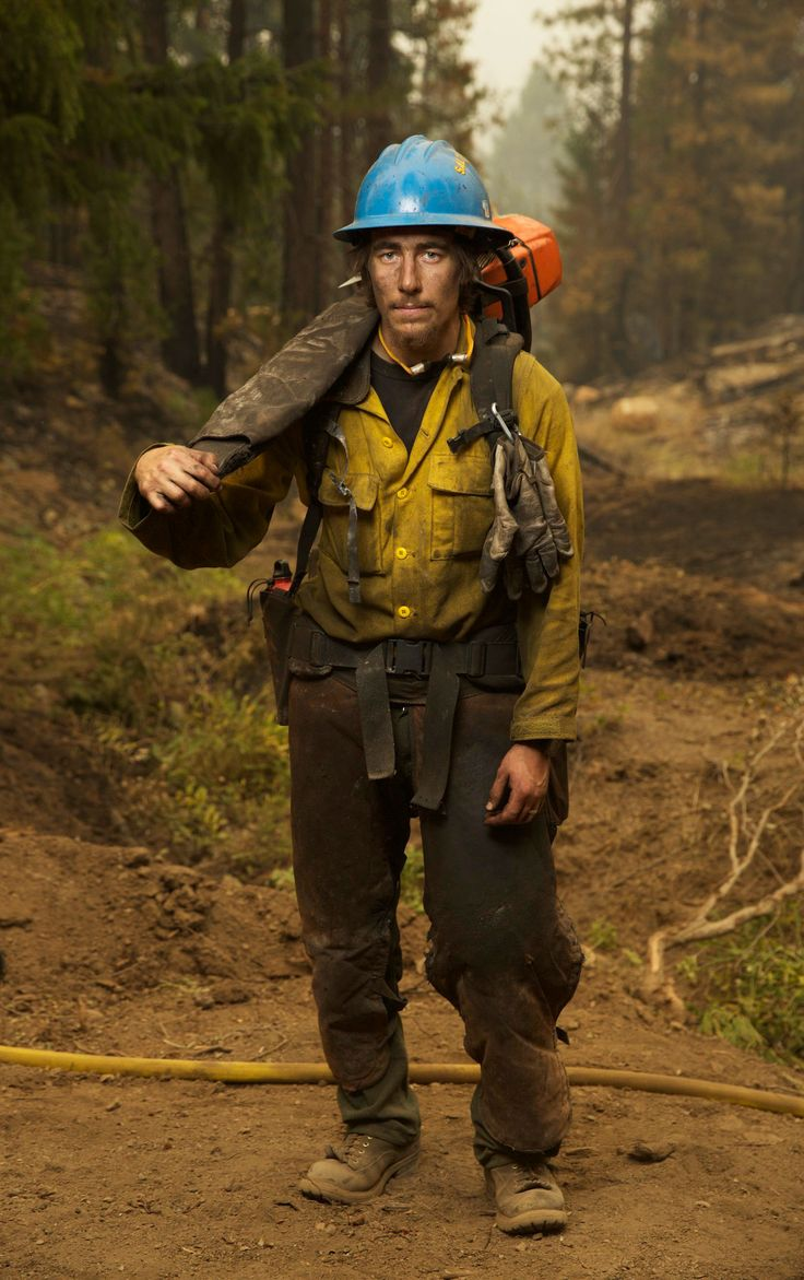 Gritty, Dirty, and Dedicated: Portraits of Wildland Firefighters