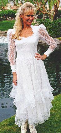 Western Cowboy Weddings Dresses | Western Wedding Gowns