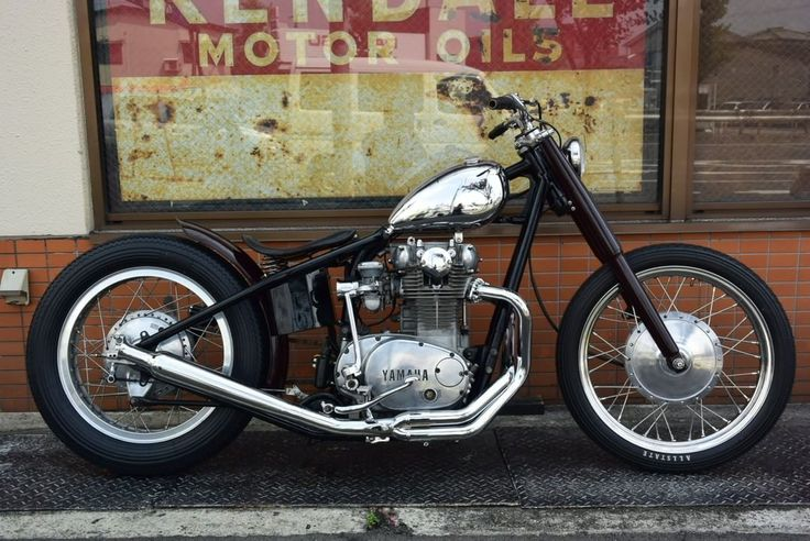 Yamaha TX650 1978 Bobber by Bold Idea Custom Cycles #motorcycles #bobber #motos | caferacerpasion.com