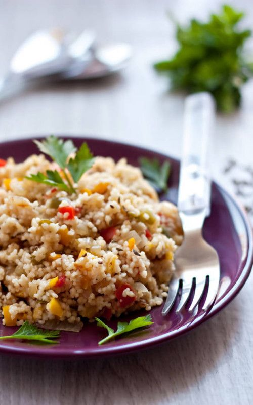 Fragrant Cous Cous With Vegetables