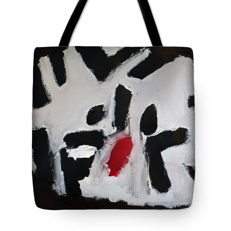 Patrick Francis - Tote Bag featuring the painting White Tiger 2014 by Patrick Francis