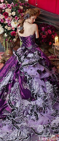 by Stella de Libero....  I would FIND a place to go to wear this Dress!!!!  Hell I would Rent a Hall to wear this dress.  WOW!