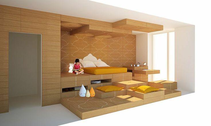 Espelho da cama Zaha Hadid assina projeto de interior de casa do Ronald McDonalds na Alemanha :: aU - Arquitetura e Urbanismo