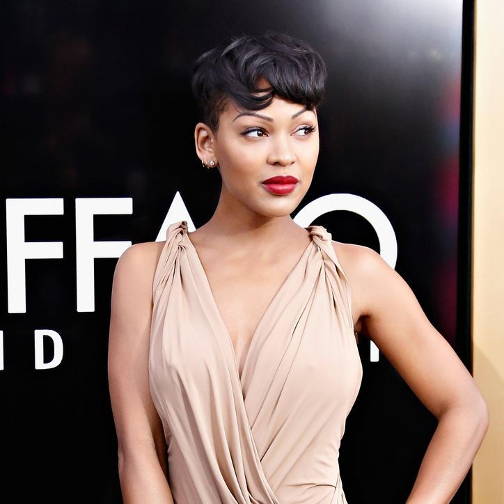 Phenomenal 1000 Images About Meagan Good Short Hairstyles On Pinterest Short Hairstyles For Black Women Fulllsitofus