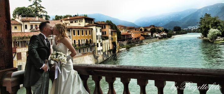 Ponte Vecchio Bassano del Grappa wedding