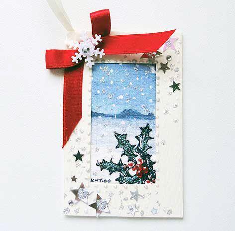Winter Scene  Gift Tag 02