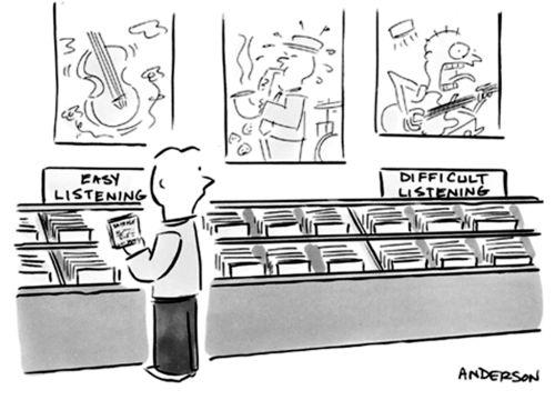 Easy Listening vs. Difficult Listening