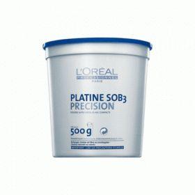 LOREAL PLATINE SOB3 500gr Σύνθεση υψηλών επιδόσεων για ομοιόμορφο ξάνοιγμα μέχρι 7 τόνους. Κατάλληλο για βαμμένα και φυσικά μαλλιά. Υψηλής πυκνότητας σκόνη για την αποφυγή της εισπνοής πτητικών σωματιδίων. Οταν αναμιχθεί με την οξειδωτική κρέμα δημιουργεί μία πυκνή ομοιόμορφη κρέμα για έυκολη εφαρμογή. Προσόχη: Χρήση μόνο απο επαγγελματίες. Τιμή €27.00