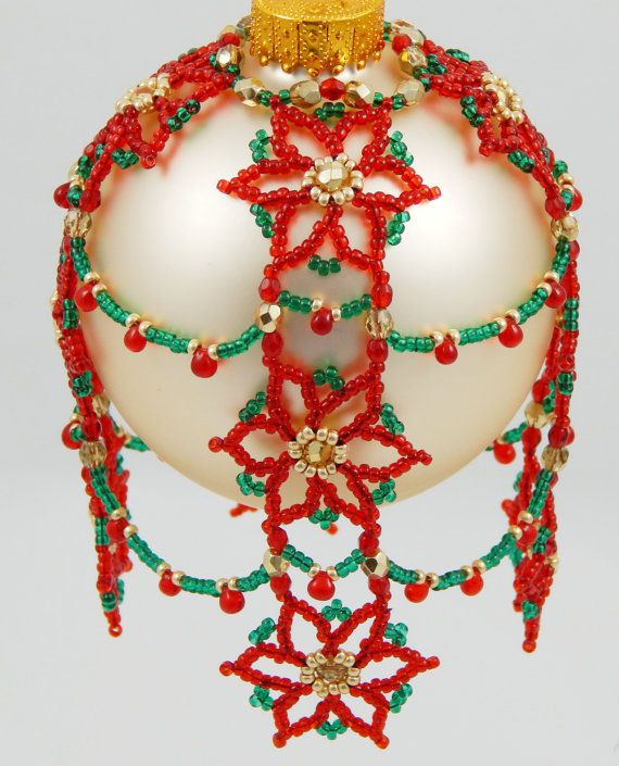 278 best Embellished Ornaments images on Pinterest  Beaded