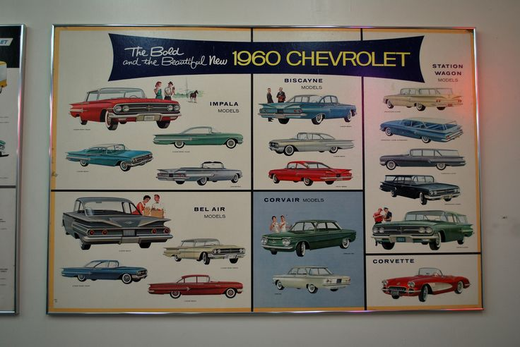 Vintage Chevy Lineup for 1960   Flickr - Photo Sharing!
