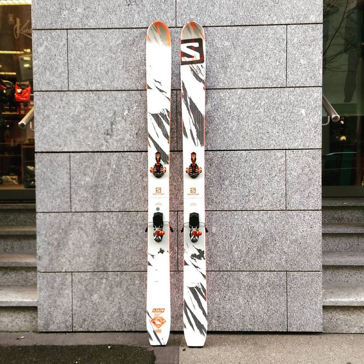 It's never too late to go fat and high end. #salomonlab #salomonfreeski #g3ion
