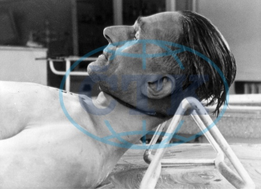 Body of Karl Hermann Frank after autopsy