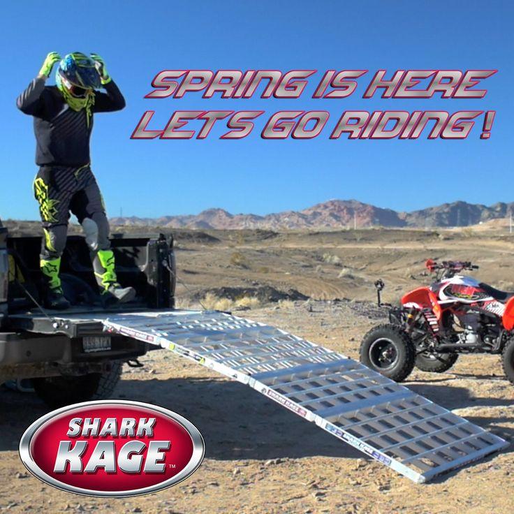spring - atv - shark kage - loading ramp