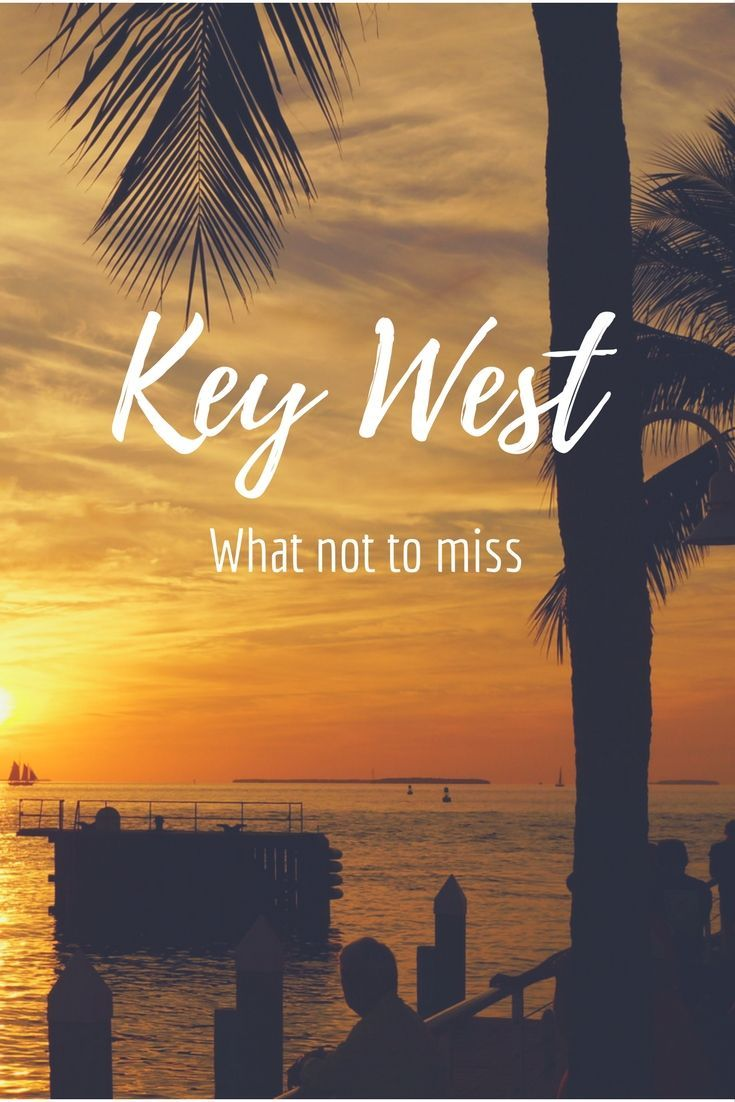 What not to miss on your visit to Key West.. did someone say sunset booze cruise?