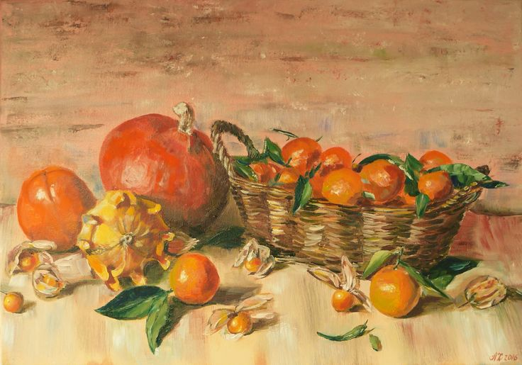 Sweet autumn  oil on canvas 35*50 Price: 450€ \492$ Package & delivery included