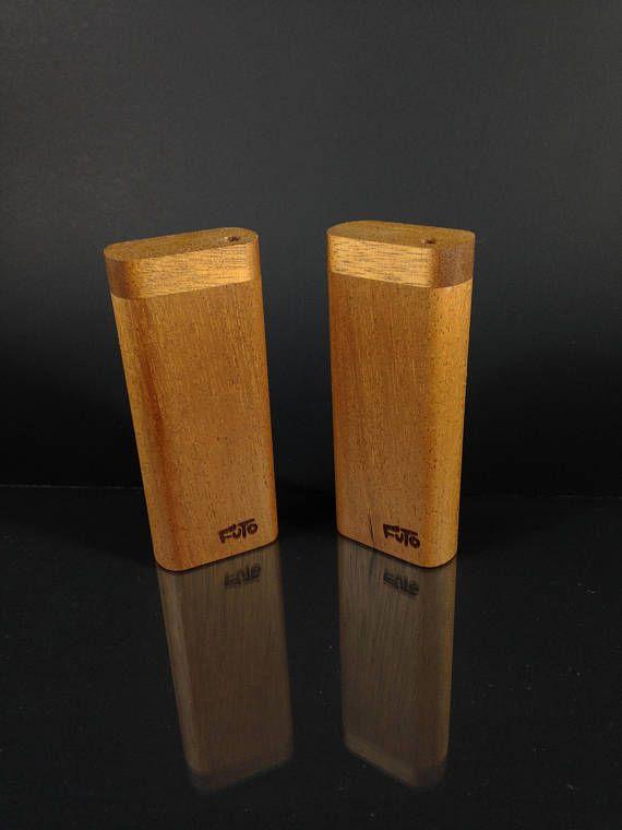 Futo African Walnut Dugout   Smoking Box  Made in Canada