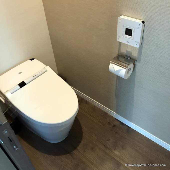 Toto toilet - Marriott Osaka Miyako hotel