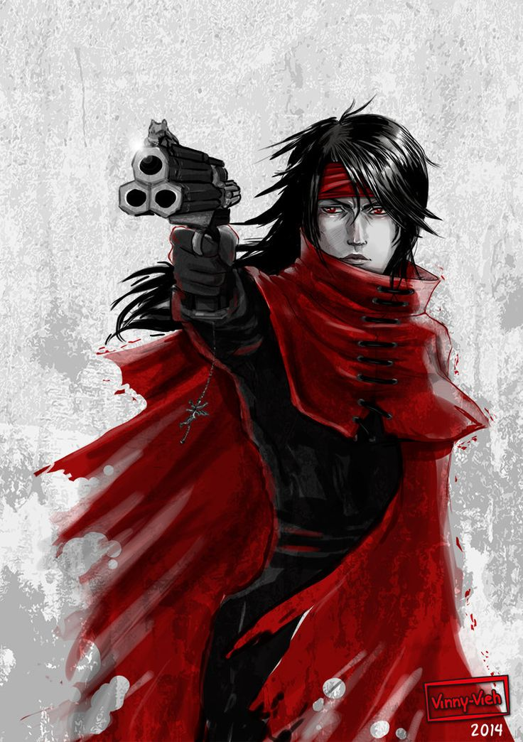 new image of Vincent Valentine FF7 - Google Search