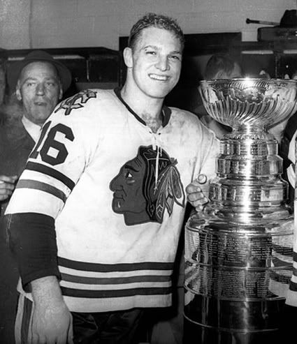 Bobby Hull and Chicago Blackhawks 1961 Stanley Cup Champions