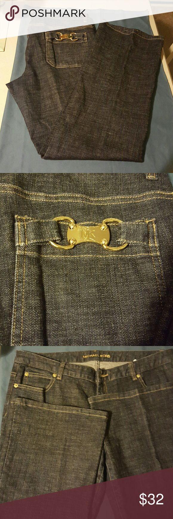MK boot cut jeans Mint condition,  inseam32 Michael Kors Jeans
