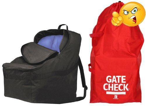 JL Childress Ultimate Car Seat Padded Travel Bag Is A Fully