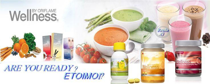 Είστε έτοιμοινααισθανθείτε και  να δείξετε απίθανα; Με τα Wellness by Oriflame δεσμευόμαστε να σας  καθοδηγήσουμε στον κόσμο της υγιεινής διατροφής  προσφέροντάς σας υψηλής ποιότητας, φυσικά προϊόντα δημιουργημένα  από κορυφαίους Σουηδούς επιστήμονες. Επιπλέον, σας  προσφέρουμε συμβουλές για τον ...