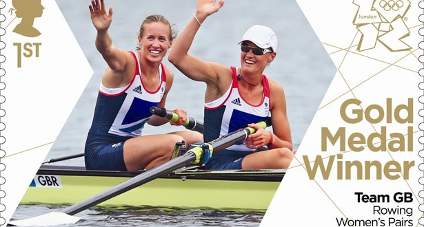 Team GB's Olympic stamps - Rowing Women's Pairs