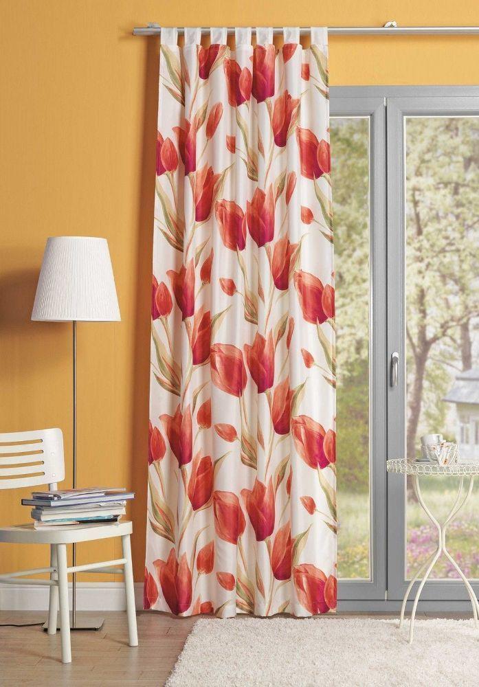 Simple Florice cm Schlaufenschal Schal Vorhang bergardine Gardine Blickdicht kaufen bei Hood de