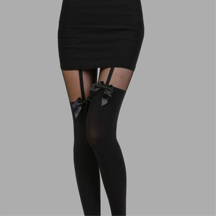 Колготки ребенок лук коленный ремень шить поддельные ноги бедра чулки сексуальные чулки колготки оптом - Taobao