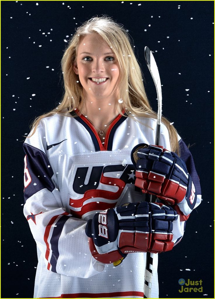 Amanda Kessel - see you in Sochi