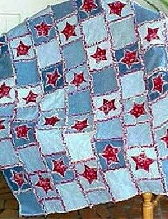 More Recycling Ideas for Kids' Blue Jeans | Quilts--i could not love this more...