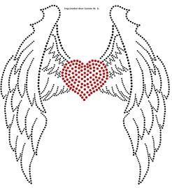 Vleugels   Vleugels   glittermotifs