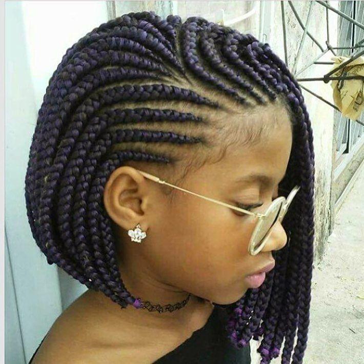 Braided bob✂️ Too cute @jullyclecia_braids #voiceofhair voiceofhair.com