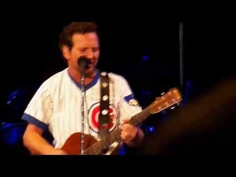 There are certain moments I will never forget in my life, Moments like being there for my niece's adoption, watching my nephew experience Wrigley for the first time, and being there to sing along to this:  Pearl Jam - All The Way - Wrigley Field (July 19, 2013)