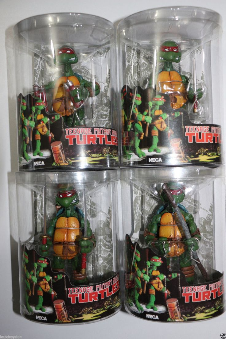 4 pcs neca tmnt teenage #mutant ninja turtles red #headband action #figures in bo,  View more on the LINK: http://www.zeppy.io/product/gb/2/122341582544/