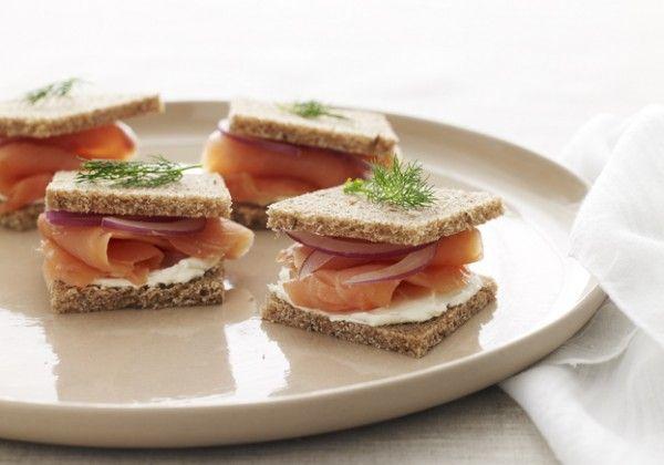 Mini afternoon tea sandwiches