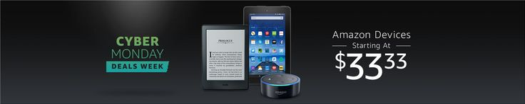 #CyberMonday #Deals on #Amazon Devices, Starting at $33.33 #coupons