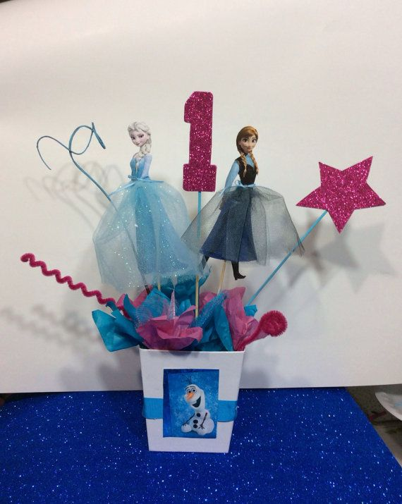 new movie frozen decorations!!!  Disney Frozen Princesses Elsa and Anna by FantastikCreations, $14.00